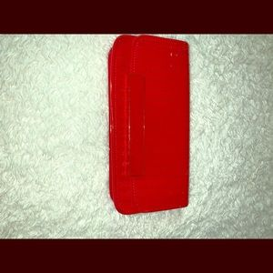 Ted Baker Red Clutch Bag